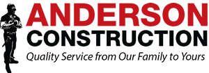 Anderson Construction | Full Service Interior and Exterior Remodeling Construction Logo